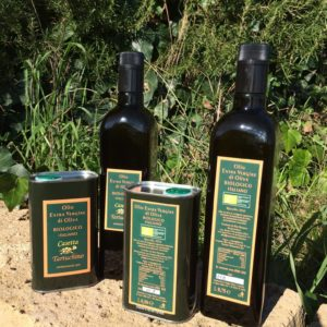 Our organic extra virgin olive oil